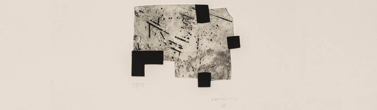 Subasta de grabados y litografías de Eduardo Chillida