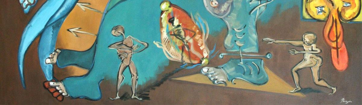 Subasta de pintura de Sergi Peragón