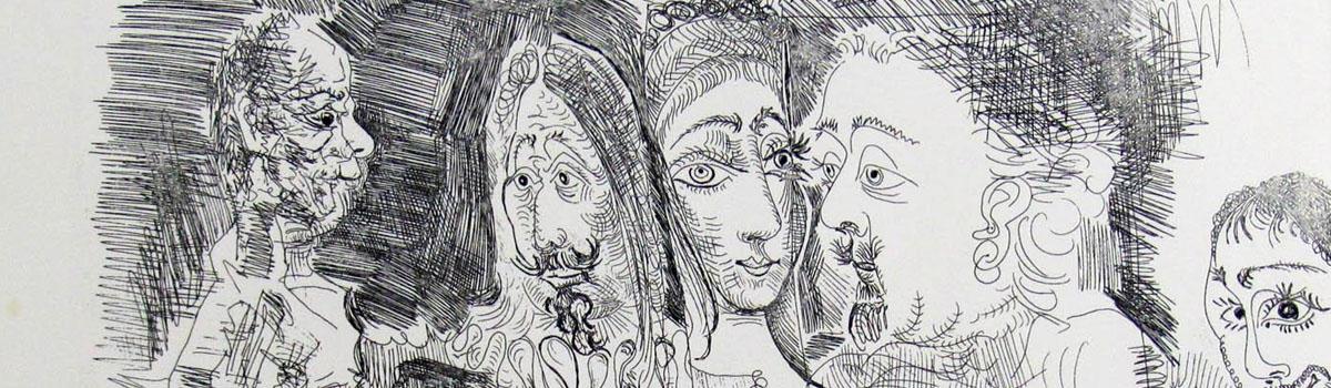 Subasta de grabados y litografías de Pablo Picasso