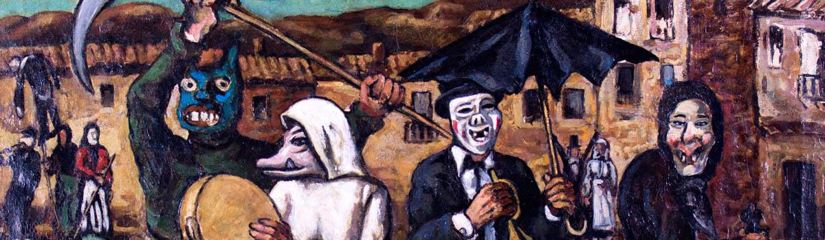 """José Gutiérrez Solana: """"Visión del Carnaval"""""""