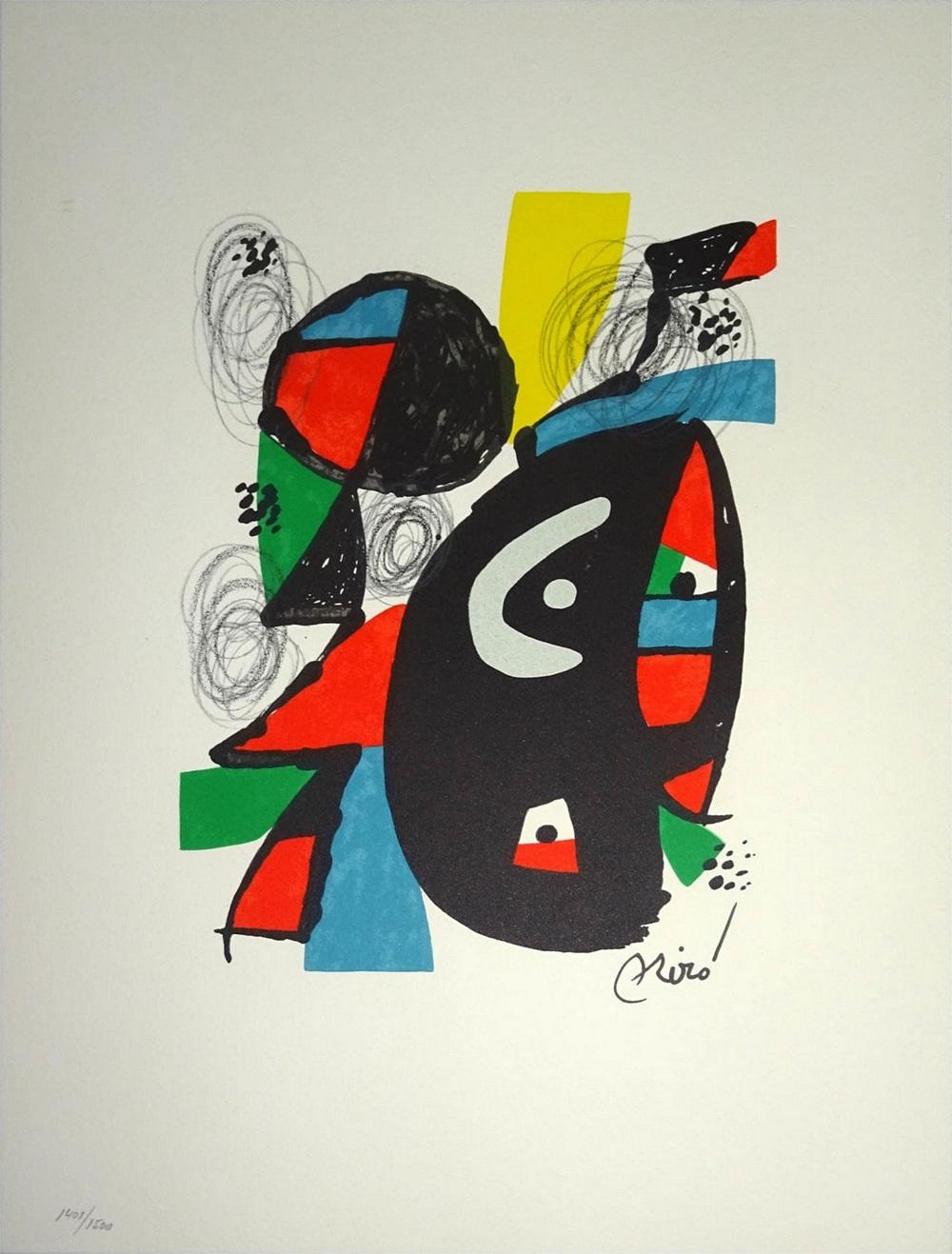 Joan Miró en 5 litografías y 2 carteles - Subasta Real · Subastas de ...