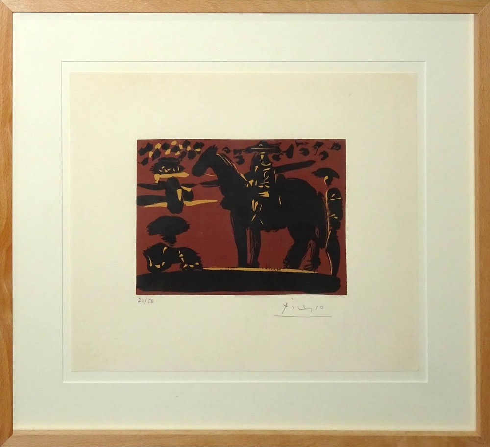 Pablo Picasso. Corrida de toros