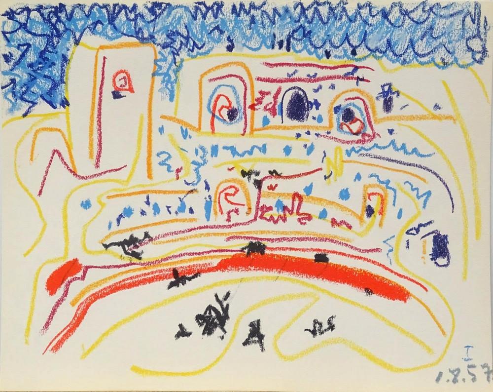 Pablo Picasso. Plaza de toros
