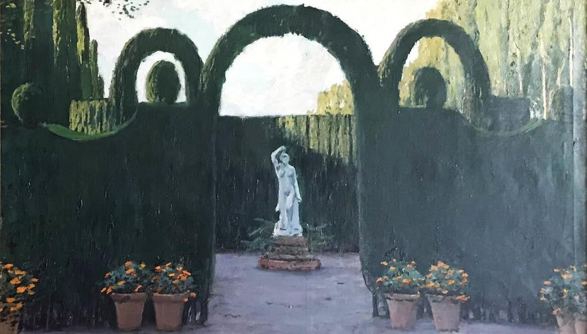 Los jardines de Santiago Rusiñol