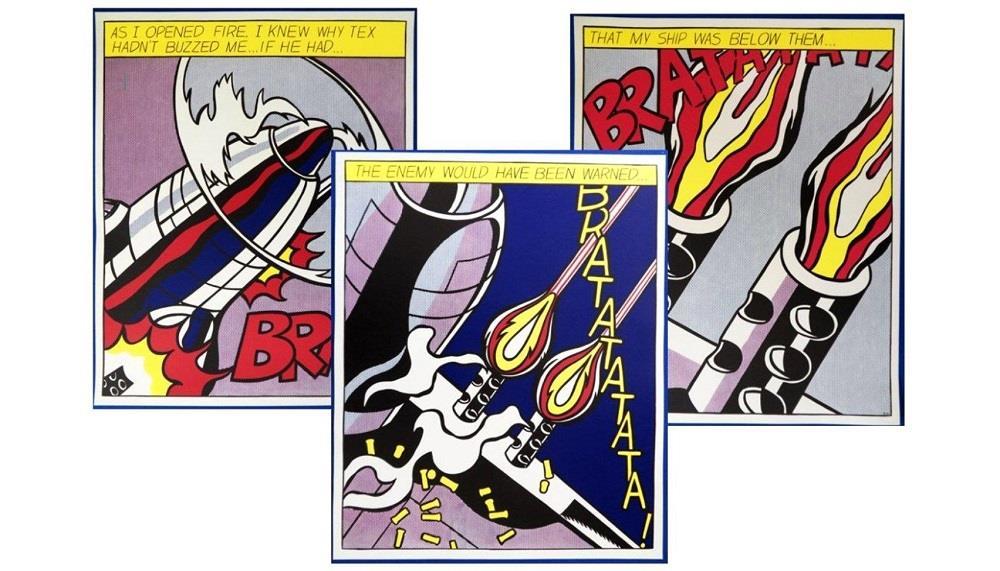 El arte pop de Roy Lichtenstein