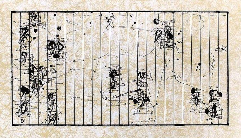 Enrique Brinkmann: caligrafía asiática abstracta