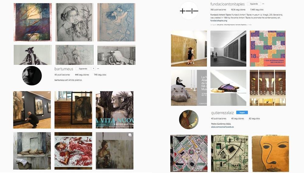 7 Cuentas de Instagram de nuestra galería virtual