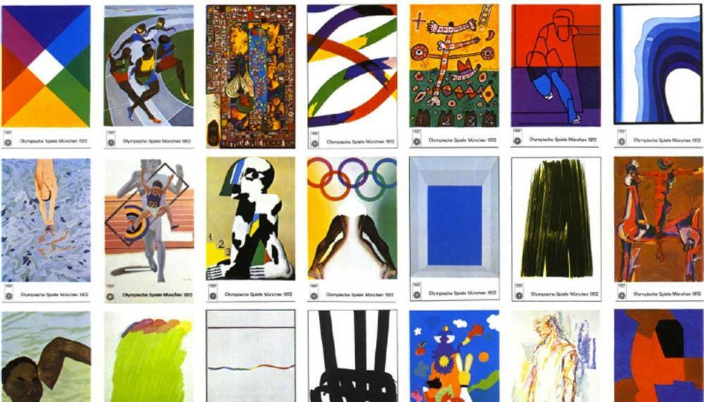 Carteles de los Juegos Olímpicos de Múnich 1972