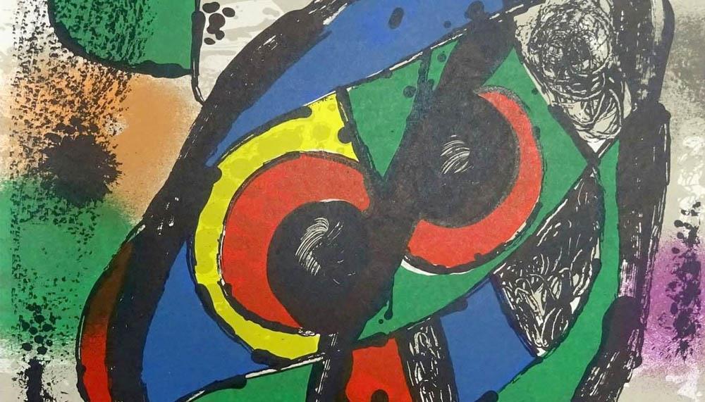 Joan Miró en 5 litografías y 2 carteles