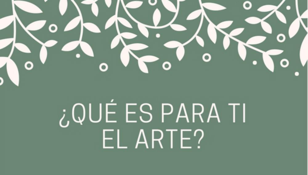 ¿Qué es el arte? (I)