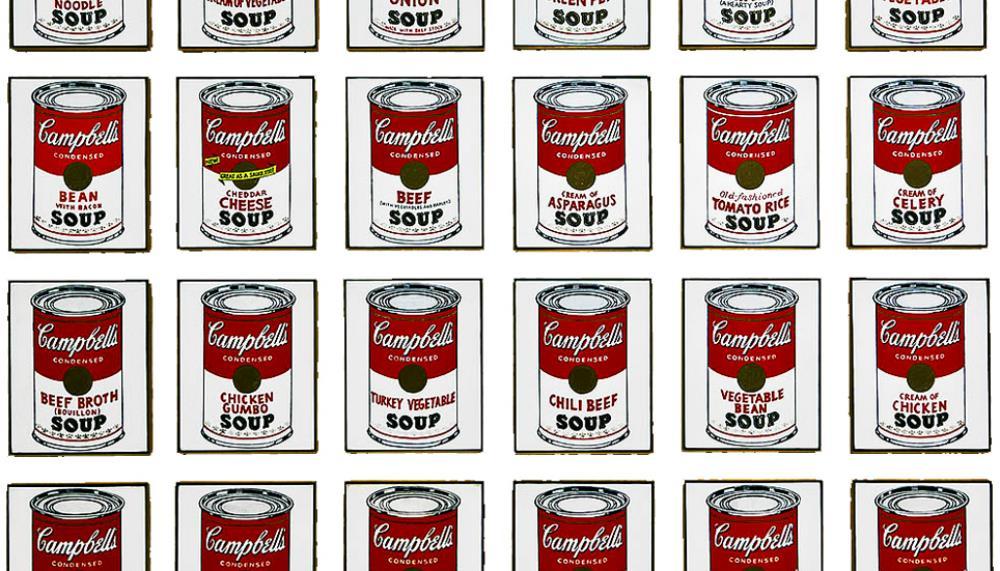 ¿Por qué Andy Warhol pintaba botes de sopa Campbell's?