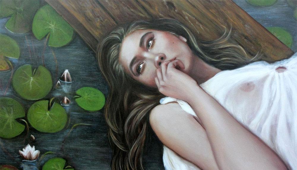 La pintura de Oxana Samigulina, o el erotismo elevado a la categoría de arte