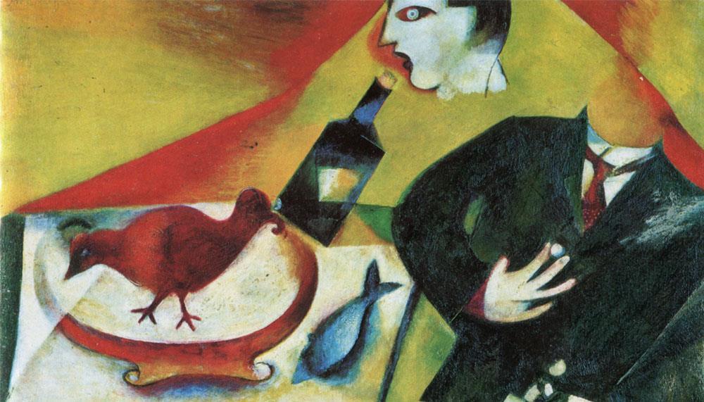 La pintura de Marc Chagall: entre lo real y lo sobrenatural