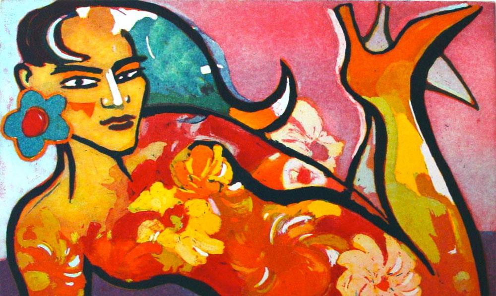 La pintura impetuosa de Elvira Bach: la agresividad inmisericorde de una fiera libre.