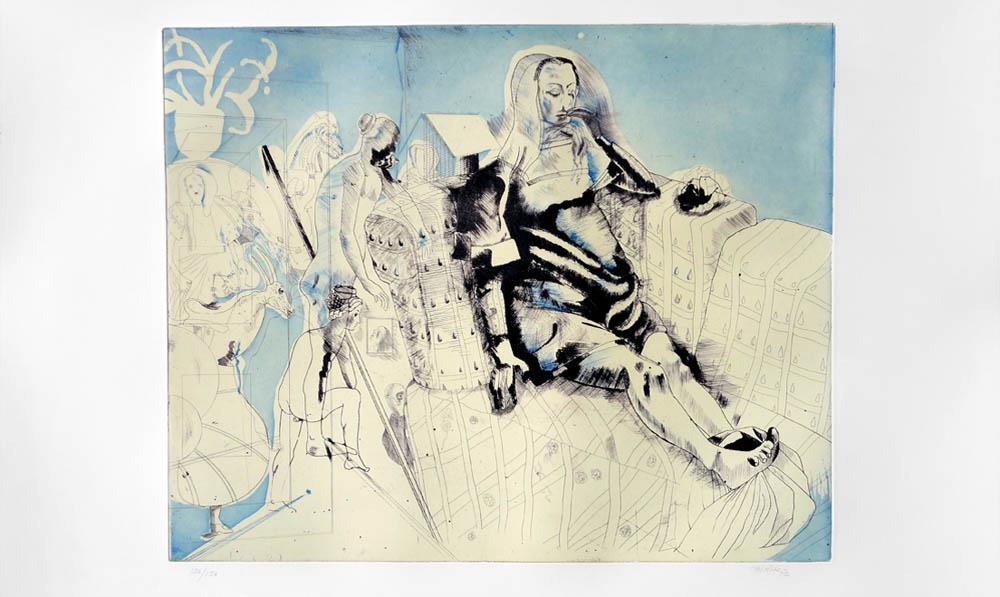 El pintor gallego Jorge Castillo y la búsqueda del equilibrio entre realidad y fantasía
