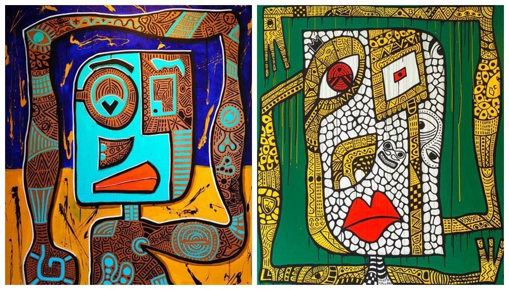 Oliver Schibli: el arte tribal remasterizado