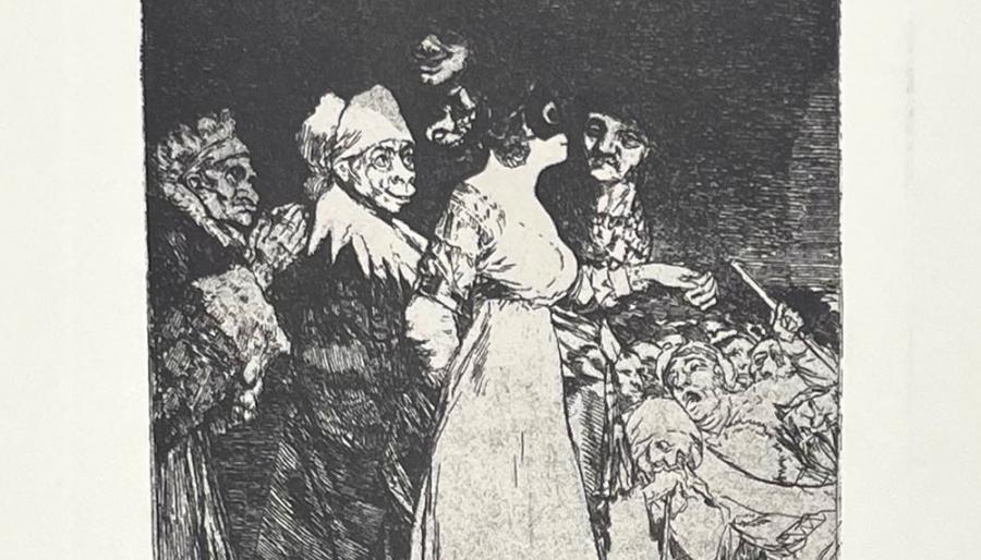 Goya en 6 Caprichos