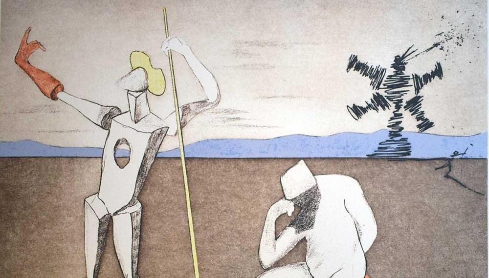 Los libros ilustrados de Salvador Dalí
